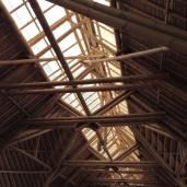 Its entire factory is constructed entirely of bamboo.