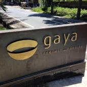 Gaya Ceramics. Started by an Italian husband and wife team 13 years ago. The majority of R4D's plates come from them.