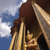The glittering Grand Palace.
